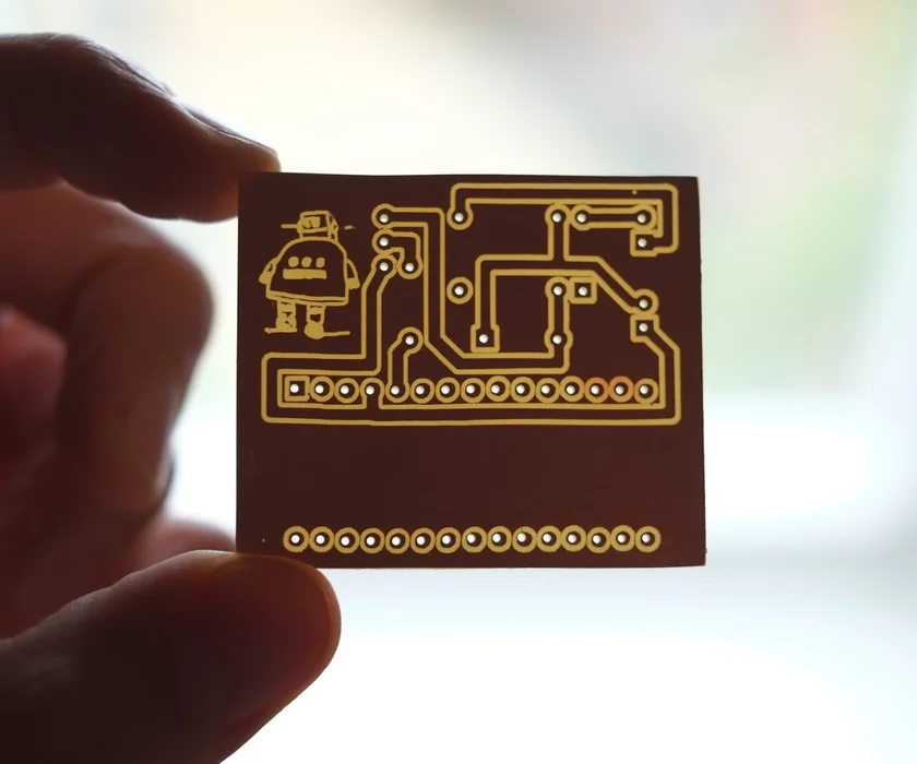PCB Designing and Isolation Milling Using Only Free