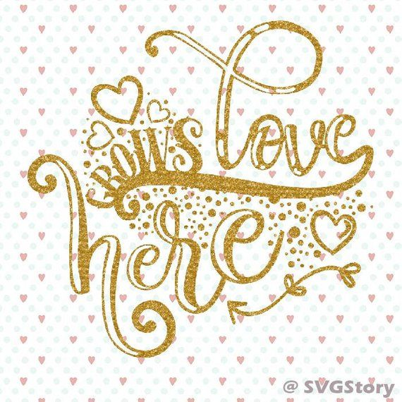 Download Love grows here svg Handlettered svg Love cutfile cricut ...
