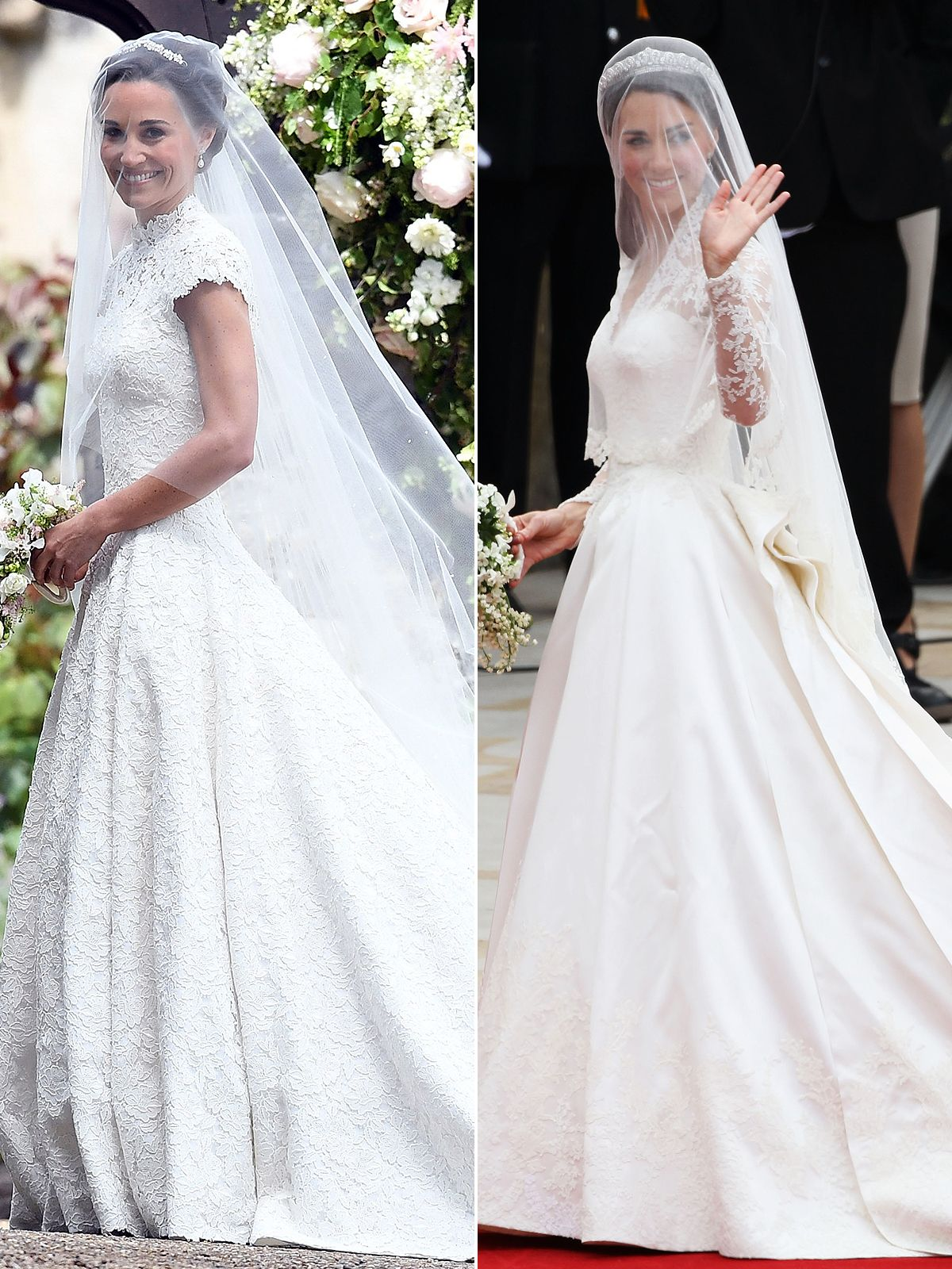 Here comes the bride see pippa middleton 39 s stunning for Pippa middleton wedding dress buy