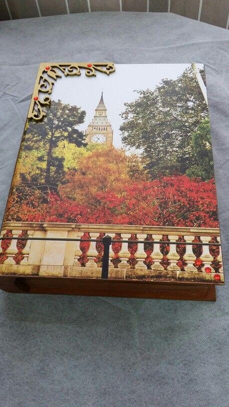 Cx livro decorativo  Faço por encomenda