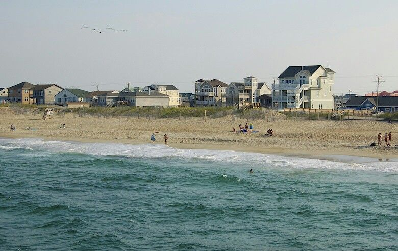 Nags Head Beach Outer Banks Nc Beauty And The