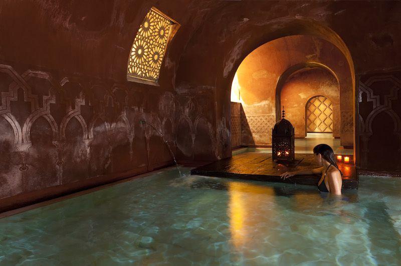 Calientr Banos Arabes Marruecos Ir De Viaje