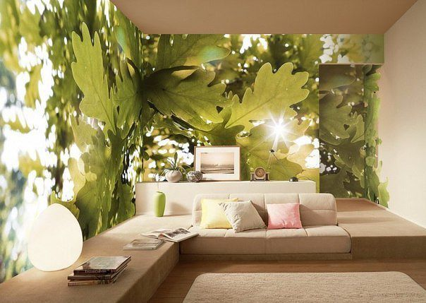 Modern wallpaper nature photo designs wall also pin by natalie ballard on design architecture pinterest rh in
