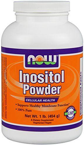 Inositol blood pressure anxiety