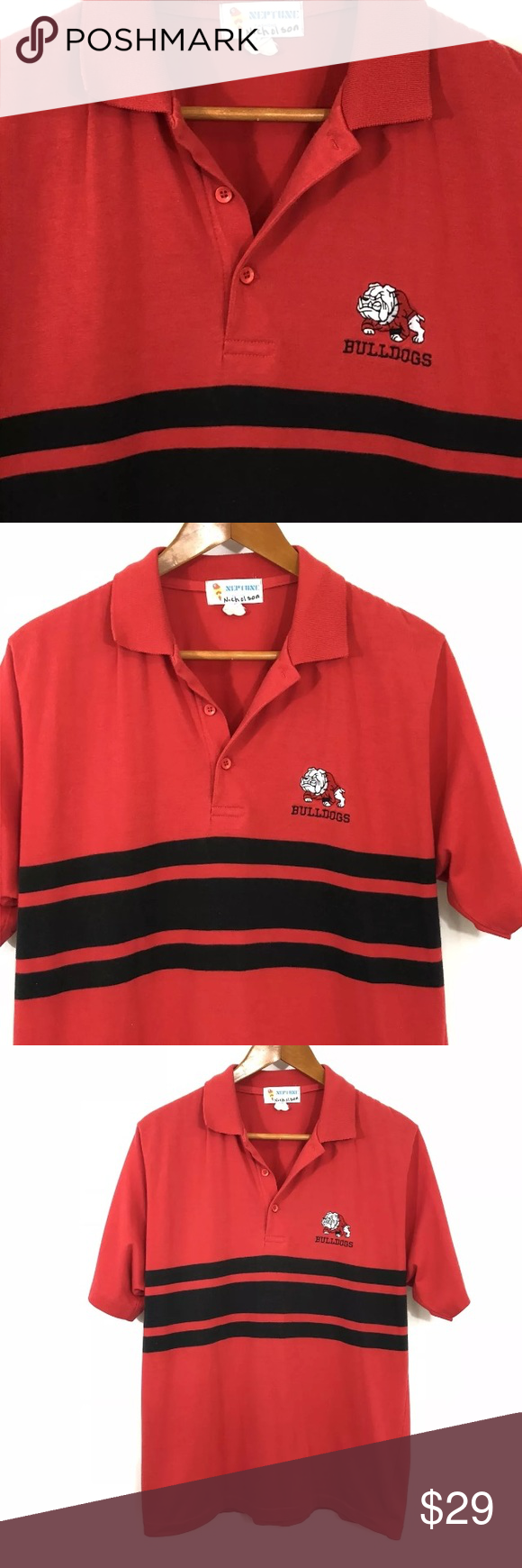 Vintage Uga Polo Shirt 70s 80s Univ Of Florida Vintage University Of