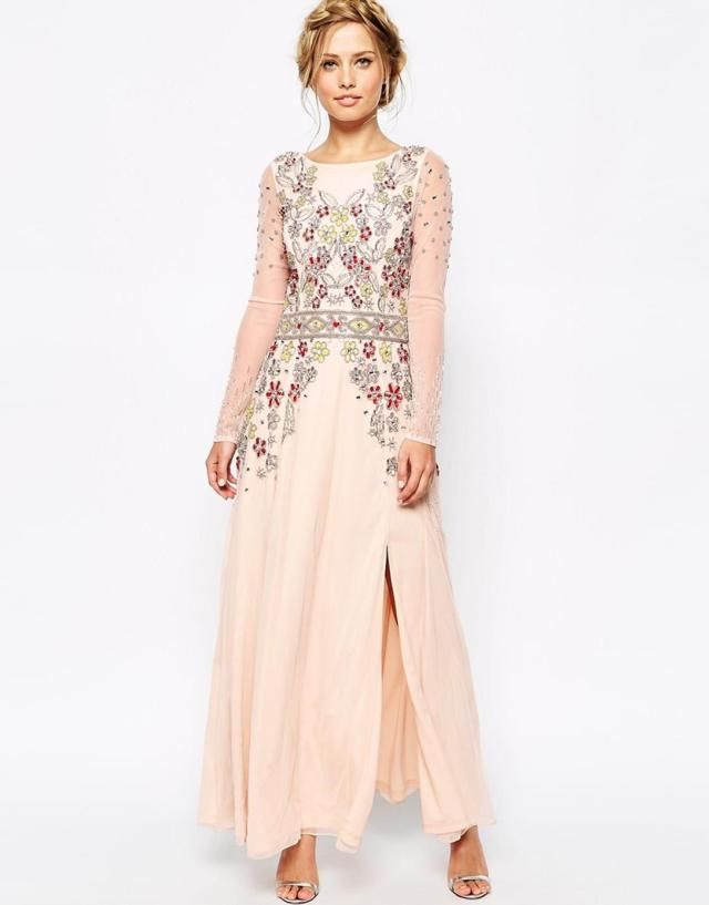 20 Beautiful Maxi Dress Wedding Guest
