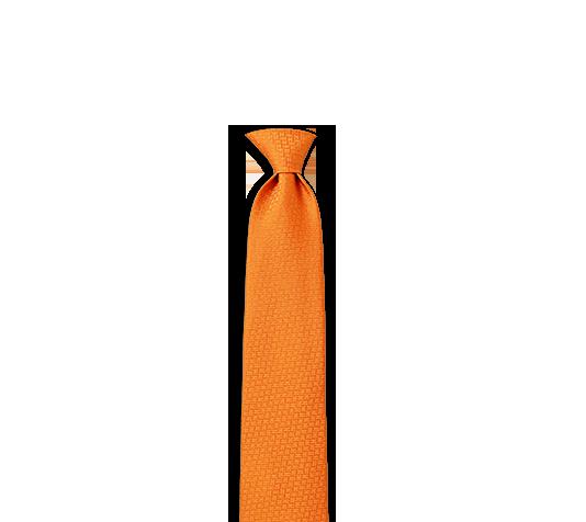 23b83e0d0646f Faconnee H 24 Hermes silk tie in pumpkin, hand-folded, 3.15'' wide ...