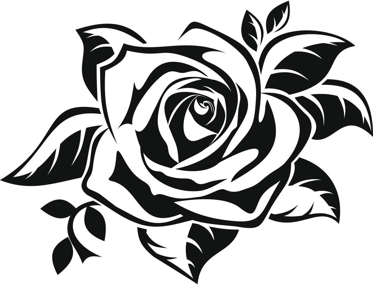 Dibujos de tatuajes de rosas Imagui Repujado Flores Pinterest