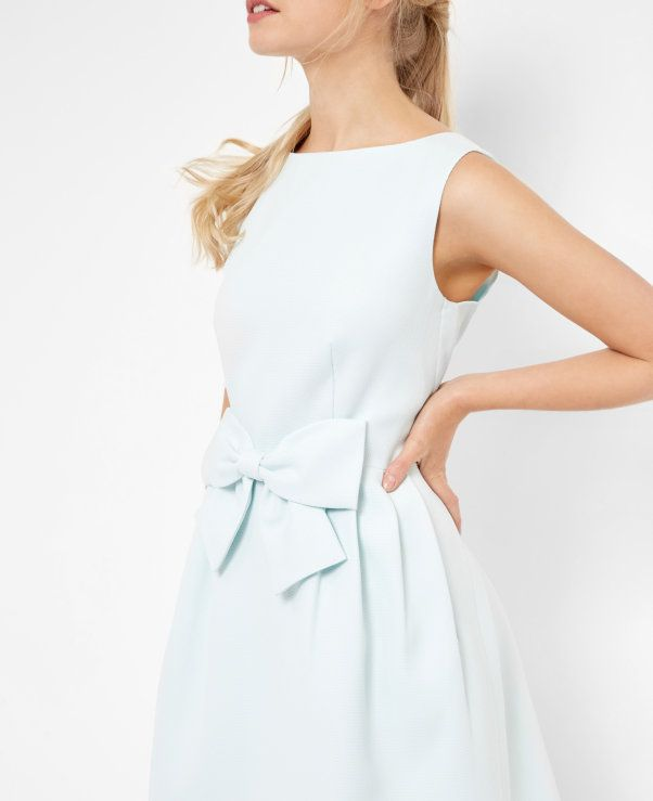 Bow Dress With Images Ted Baker Bow Dress Dresses Designer Outfits Woman
