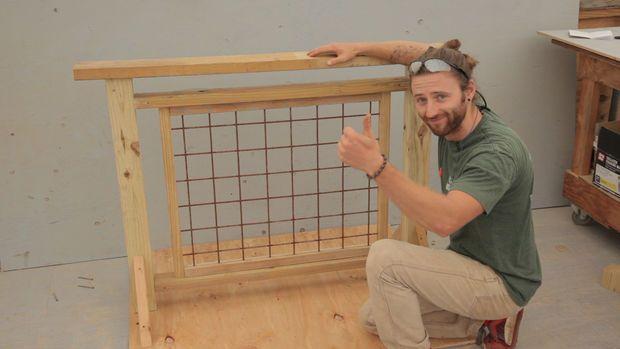 Deck Railing With Hogwire Panels Deck Railings Wire Deck Railing Diy Deck