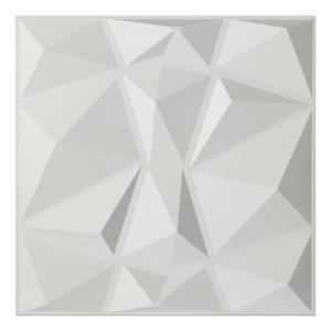 Ekena Millwork WP20X20ABWH Aberdeen Design Decorative 3D Wall Panel White