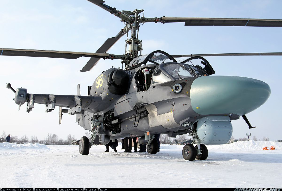 Kamov Ka52 Alligator aircraft picture Aircrafts