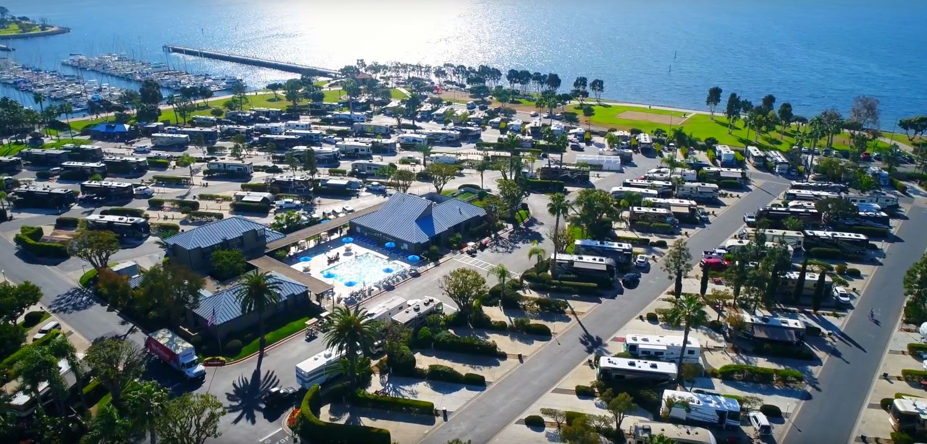 Experience Luxury Rv Camping At Chula Vista Rv Resort Situated Right On The San Diego Bay Book Today And In 2020 Chula Vista Rv Resort Best Rv Parks Luxury Rv Resorts