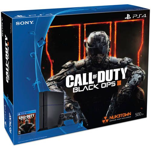 #Walmart: Refurbished PlayStation 4 500GB Console Bundle with Call of Duty Black Ops III (PS4) $249  FS  3yrs ... #LavaHot http://www.lavahotdeals.com/us/cheap/refurbished-playstation-4-500gb-console-bundle-call-duty/110196