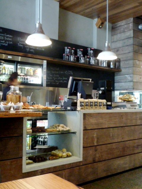 Point Of Sale Possible Baked Goods Section Coffee Shop
