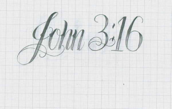 This Is It John 316 Tattoo Design John 316 By 12kathylees12