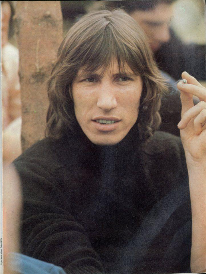 "more-relics: ""Roger Waters - Knebworth'75, © Robert Ellis. """
