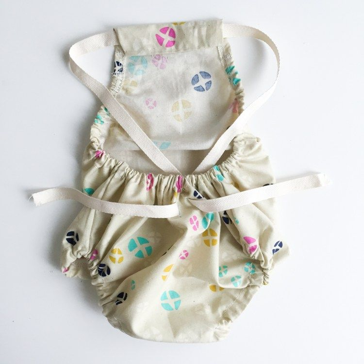 Cross Back Baby Romper Tutorial Baby Sewing Tutorials