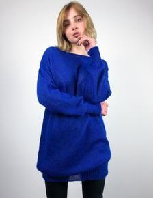 Photo of Loose Knit Sweater Dress, Mohair Dress, Mohair Sweaterdress, Wool Knit Dress, Wool Sweater Dress, Wool Dress, Long Sleeve Dress, Silk Dress