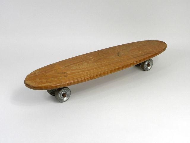 Vintage 1960 S Skateboard Skateboard Roller Skate Wheels Old School Skateboards