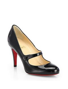 df5cc8a73adf CHRISTIAN LOUBOUTIN Charlene Patent Leather Mary Jane Pumps | What's ...