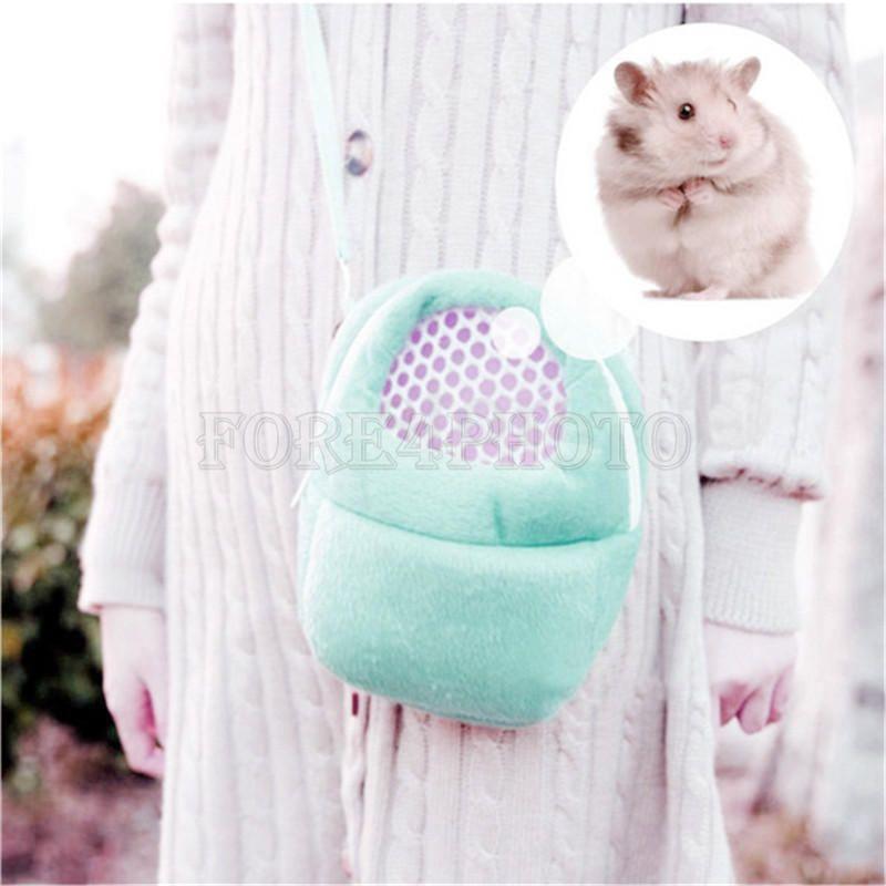 New Sugar Glider Rat Hamsters Bag Carrier Small Animals Accessories Handbags L 9