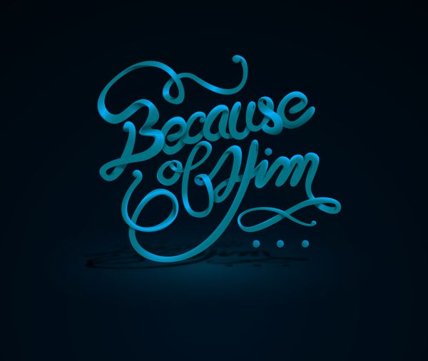 Because of Him on Behance by Jorge Atempa