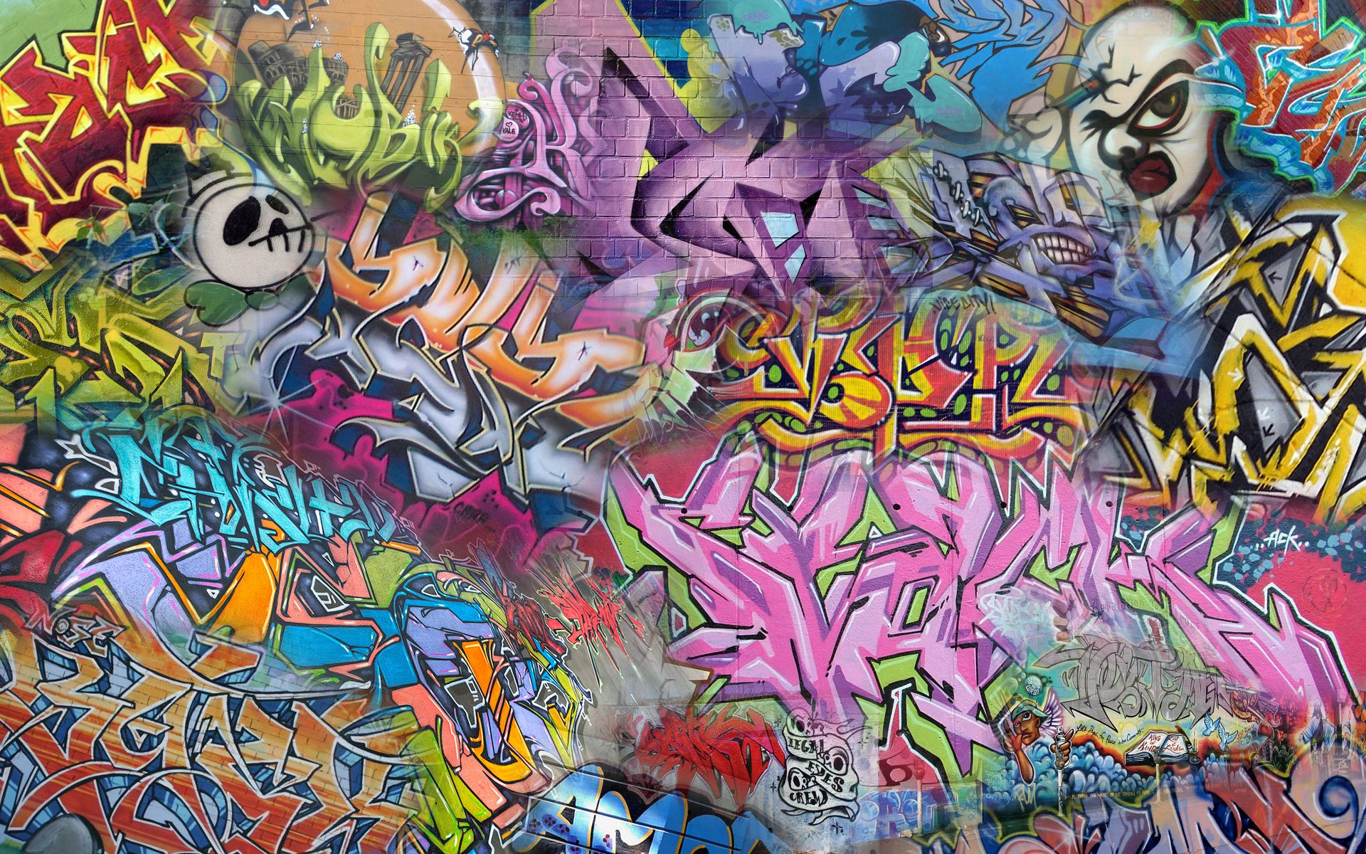 Street Art Wallpapers (Dengan gambar) Seni, Graffiti