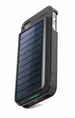 Eton Mobius Nsp300b Rechargeable Battery Case W Solar Panel For Iphone 4 And 4s At T And Verizon Models Solar Charger Iphone Solar Charger Battery Cases