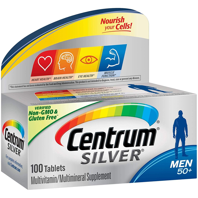سنتروم سيلفر Centrum Silver Men 100 Tab Centrum Silver Women Centrum Silver Centrum Silver Men