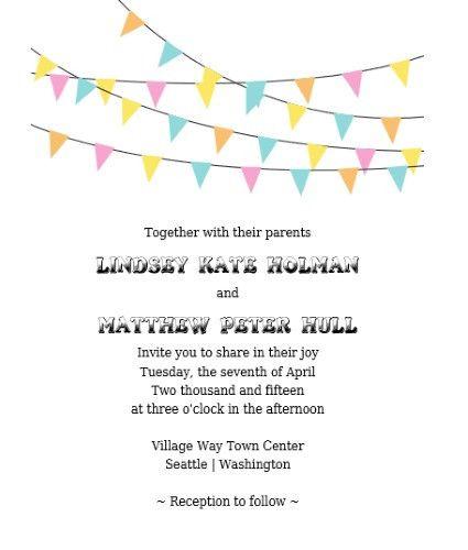 67 Lovely Free Printable Wedding Invitations | visit www ...