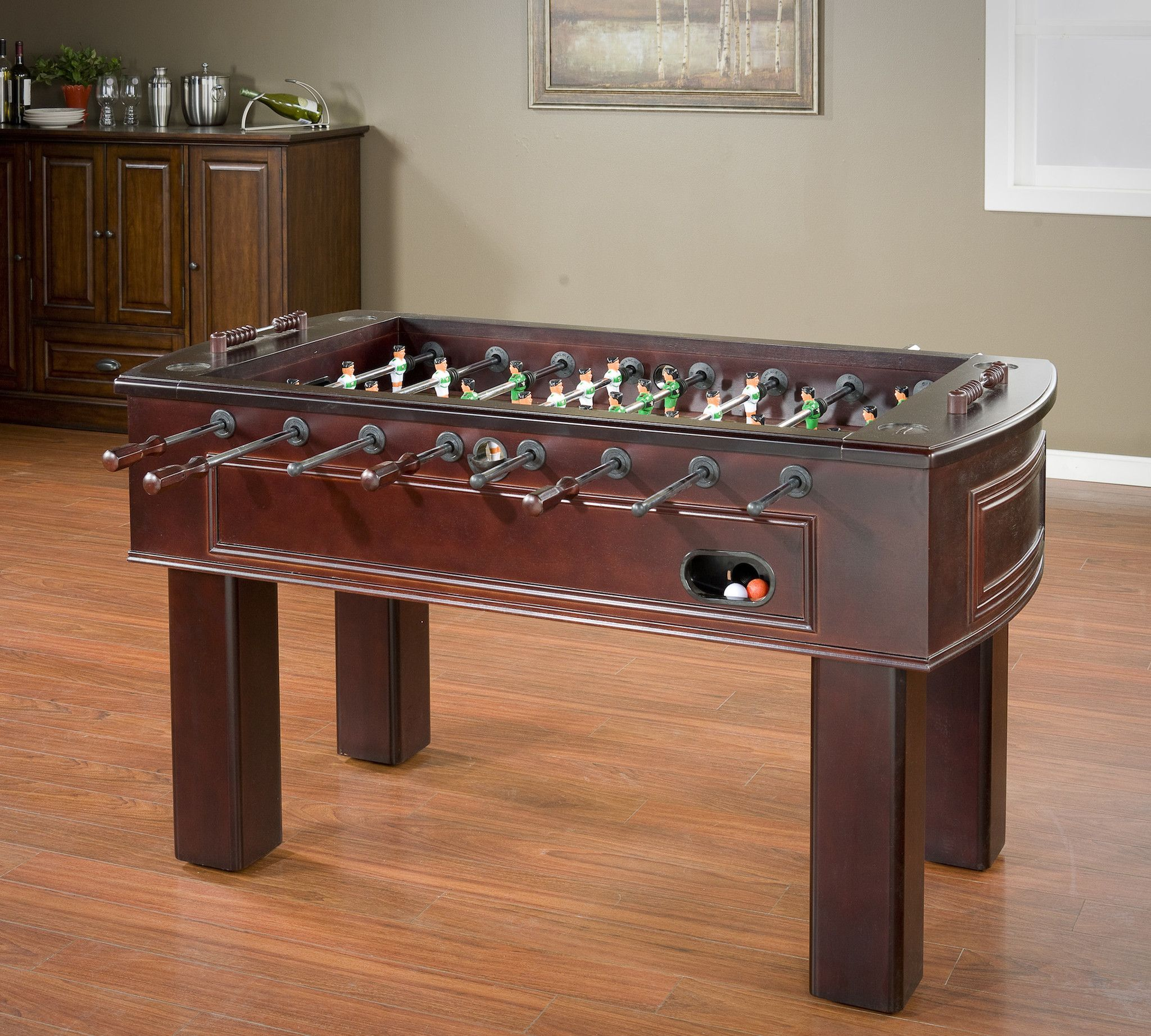 American heritage billiards carlyle foosball table espresso american heritage billiards carlyle foosball table geotapseo Image collections