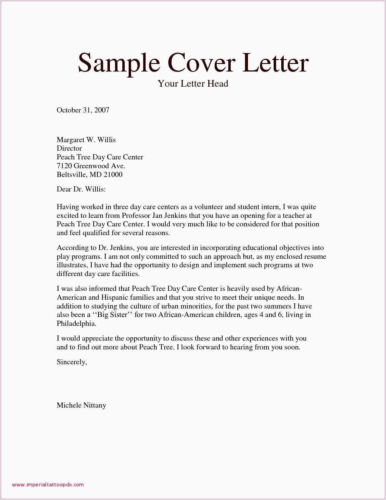 Download New Sample Resume Letter For Job Lettersample