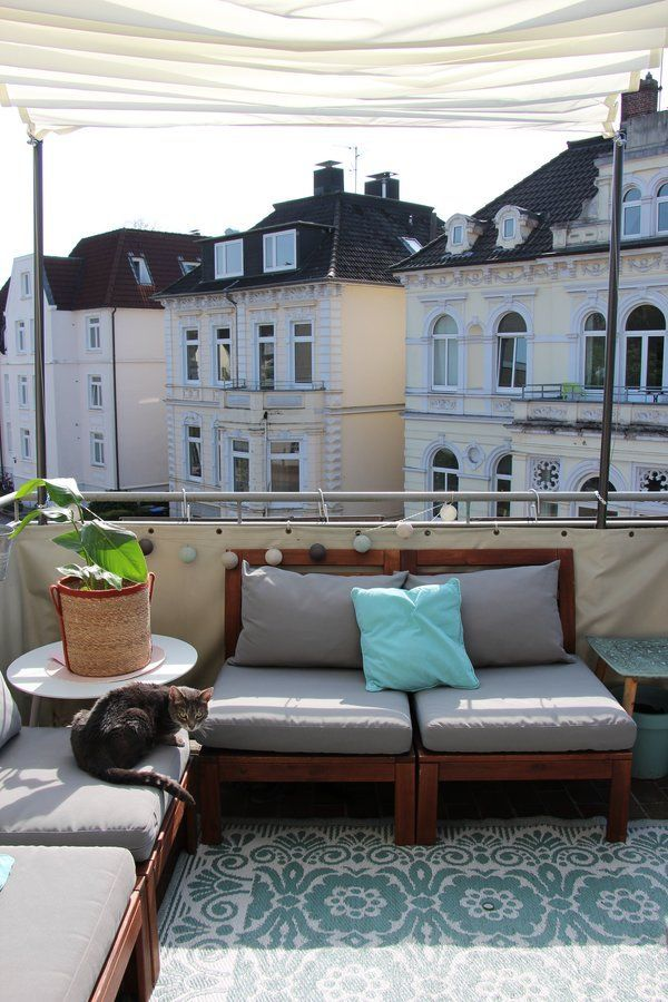 Mein liebster Sonnenplatz ☺️ in 2019 Balkon ideen