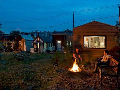 Micro-community of tiny homes flourishes on rehabilitated vacant lot