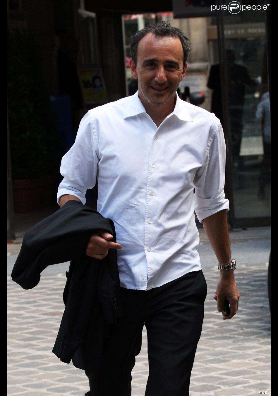 PHOTOS Elie Semoun heureux pour son pote Franck et la jeune mariée