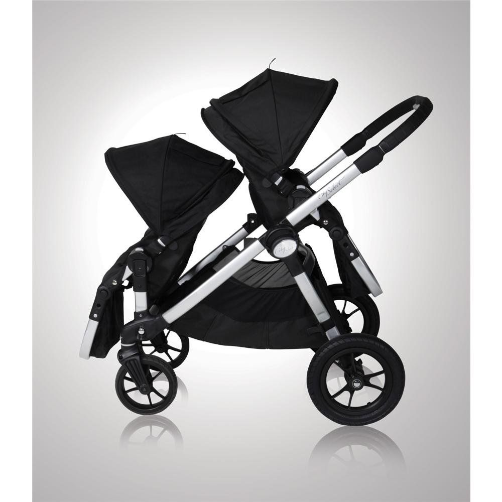9a6f73ada Baby Jogger City Select Stroller with 2nd Seat Onyx