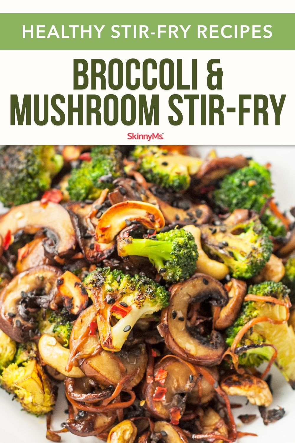 Broccoli and Mushroom Stir-Fry | Quick & Easy Recipes