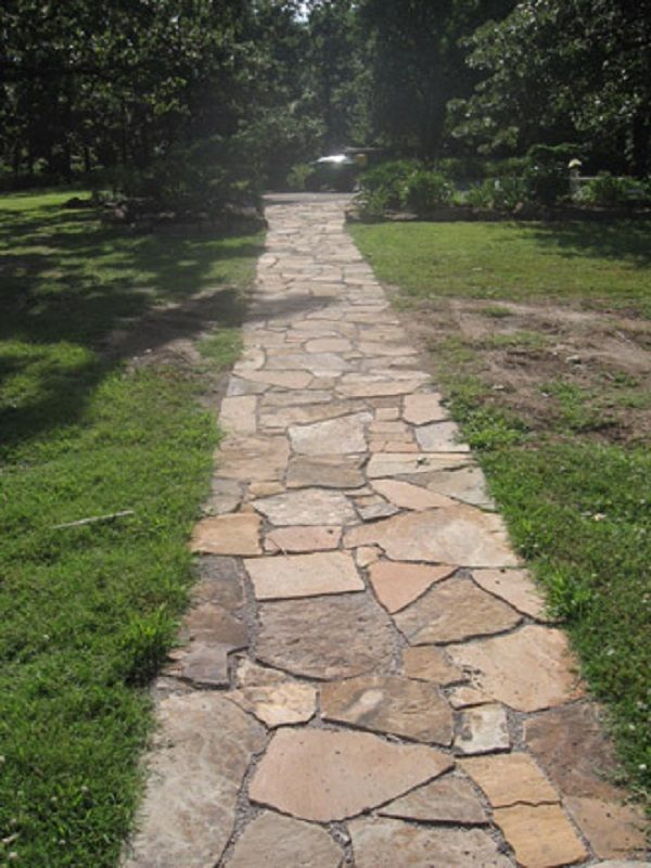 Landscaping Empire Stone Company Walkways Paths Rock Garden Landscaping Flagstone Patio