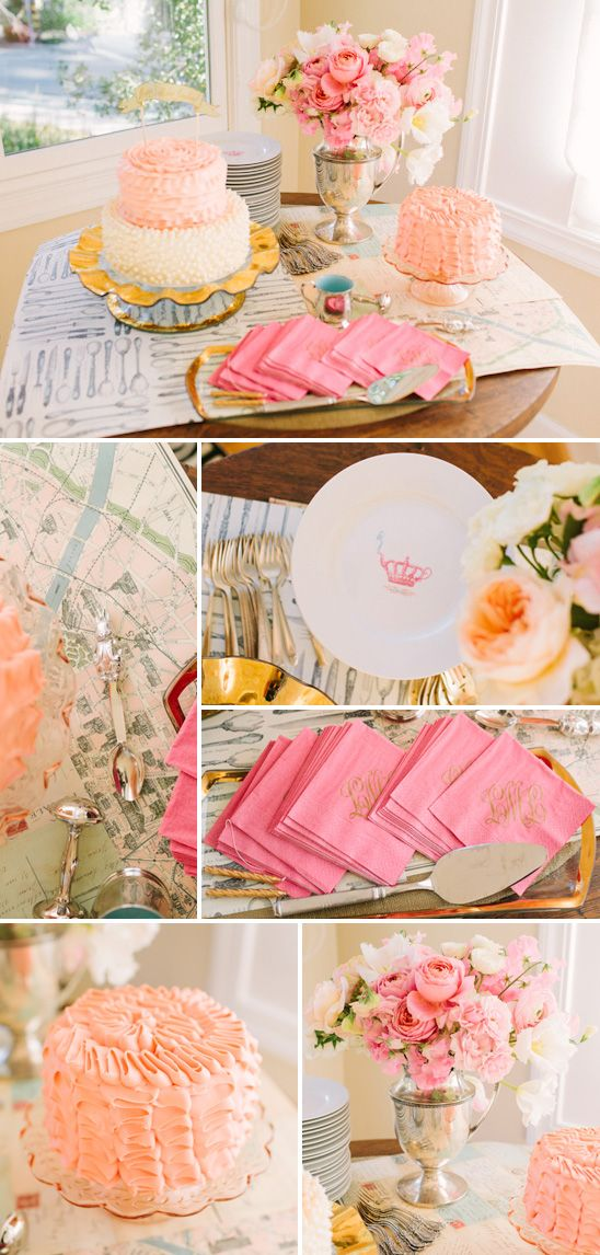 Do Like A Separate Table With Cake And Stuff... Decorate Main Table Just