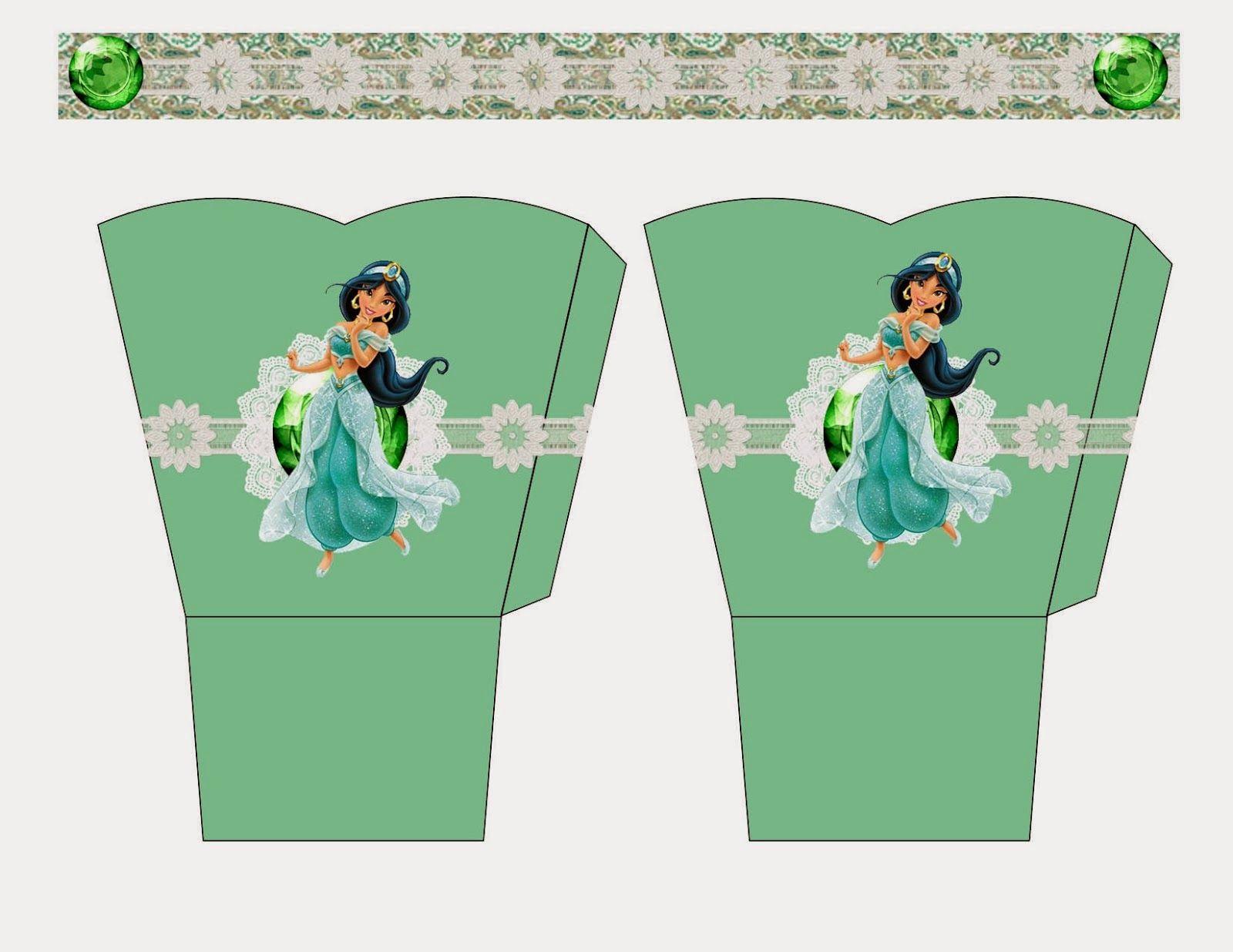 Jasmine Free Printable Basket