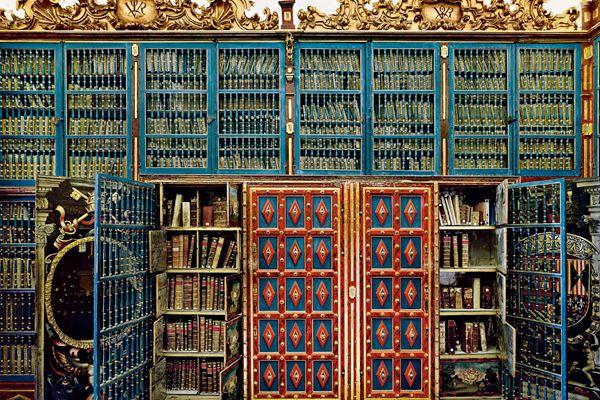 University of Salamanca Library, Spain