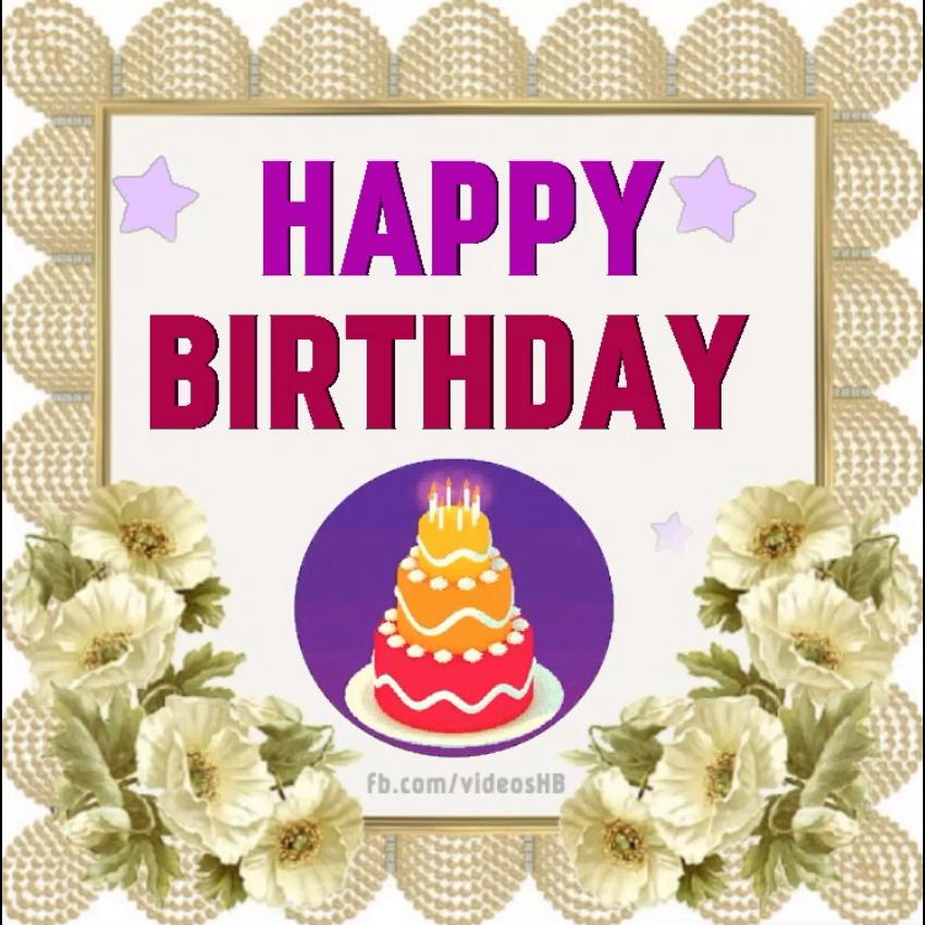 Happy #Birthday #Greeting Video
