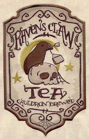 Creepy Halloween Labels Embroidered Decorative Linen Kitchen Towel #creepy #halloween #label www.loveitsomuch.com