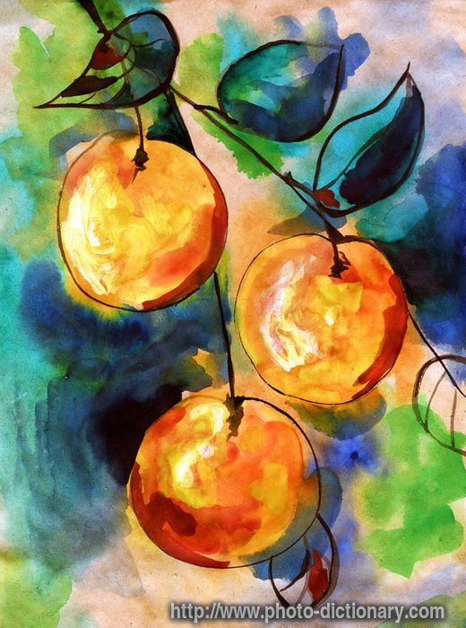 Easy Watercolor Paintings Watercolor Painting Photo Picture