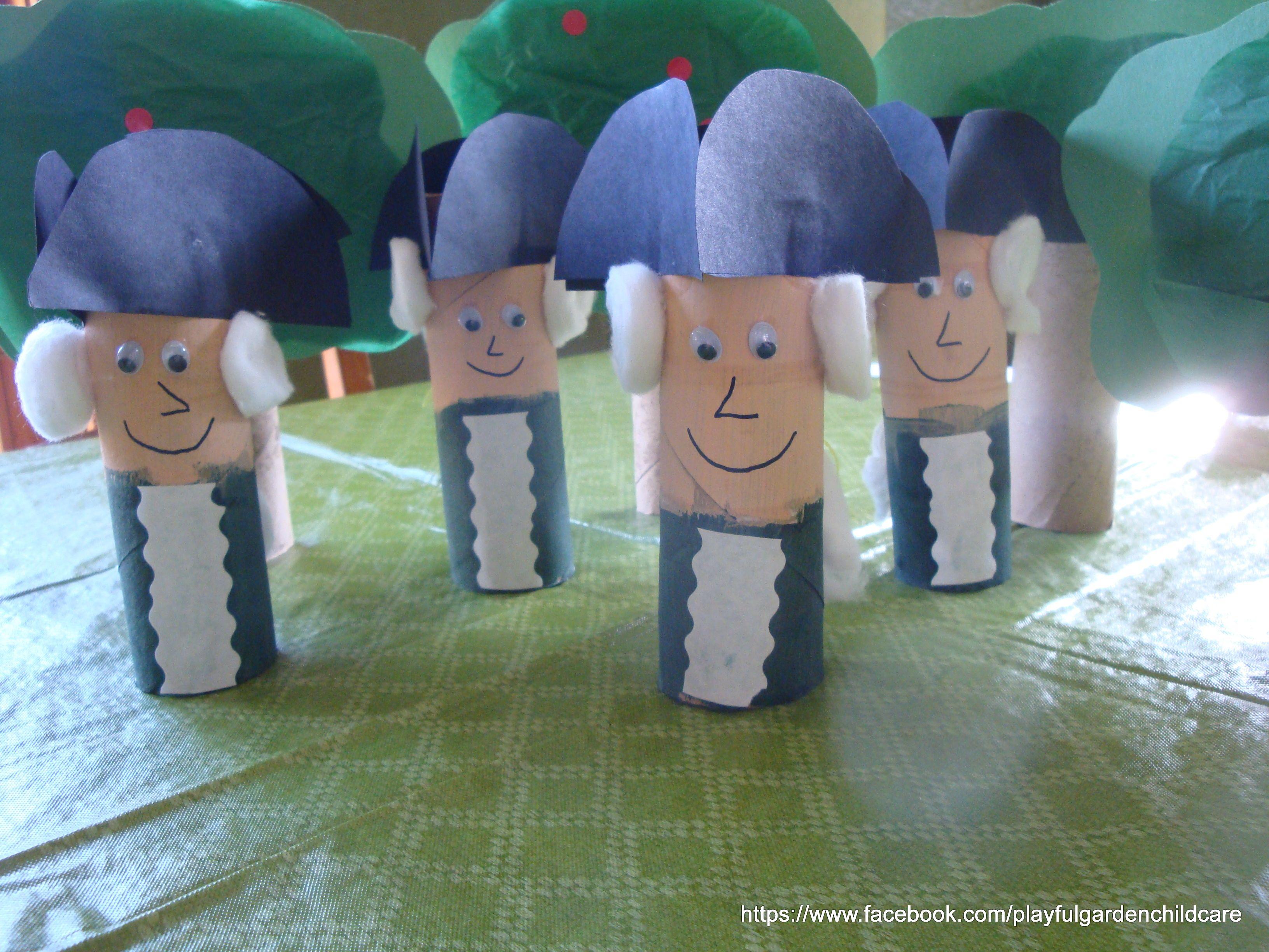 Paper Tube Craft Washington Amp Cherry Tree Craft