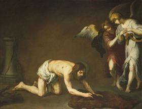 Christ after the Flagellation - Bartolome Esteban Murillo