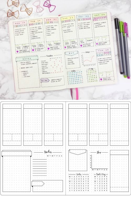 Creative bullet journal ideas and planner spreads to organize your creative bullet journal ideas and planner spreads to organize your life inspiring layouts you can solutioingenieria Gallery