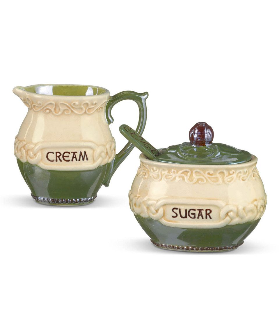 Dishes · Another great find on #zulily! Celtic Creamer u0026 Sugar Serving Set by Grasslands Road  sc 1 st  Pinterest & Another great find on #zulily! Celtic Creamer u0026 Sugar Serving Set by ...