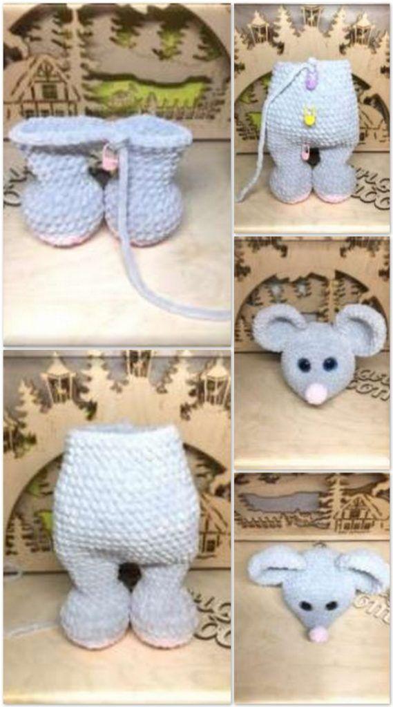 Amigurumi mouse Free Pattern » My Eat Book